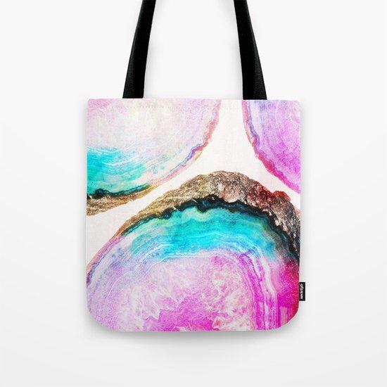 Agate Pattern #society6 #decor #buyart Tote Bag