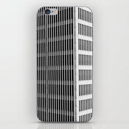 Modern Architecture Downtown Detroit Yamasaki iPhone Skin