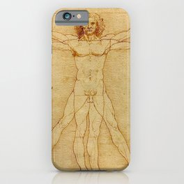 VITRUVIAN MAN - LEONARDO DA VINCI iPhone Case