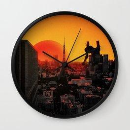 Tokyo 3 Wall Clock