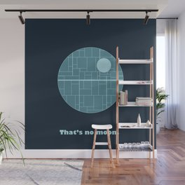 That's No Moon Wall Mural