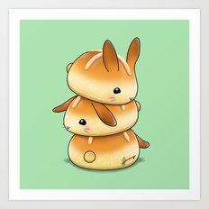 Hot Cross Bunbuns Art Print