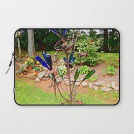 Glass and Steel Garden Art Laptop Sleeve
