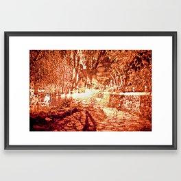 Disturb I Framed Art Print