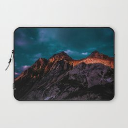 The Volcano Mountain (Color) Laptop Sleeve