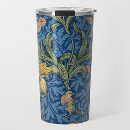 William Morris Flowers Travel Mug
