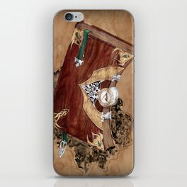 book of keshnen iPhone Skin