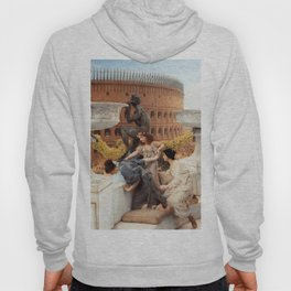 The Colosseum 1896 by Sir Lawrence Alma Tadema | Reproduction Hoody