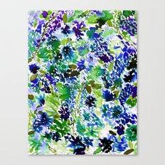 La Flor Pine Canvas Print