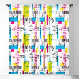 A piano pattern Blackout Curtain