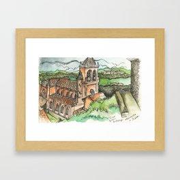 Camino de Santiago - Astorga Framed Art Print
