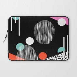 Mega Bulk - 80s style throwback retro pattern art memphis grid pattern minimalist 1980's Laptop Sleeve