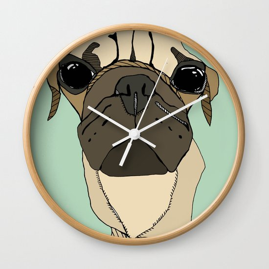 Puglet Wall Clock