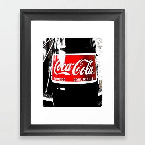 Coca-Cola Nostalgia Framed Art Print