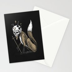 Kitsune Demon Fox Stationery Cards