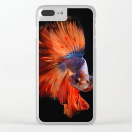 Ocean fantasy Clear iPhone Case