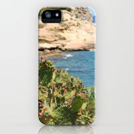 Flowering Cacti Ibiza Spain iPhone Case