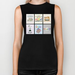 Designers United - All Six Designs Biker Tank