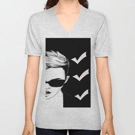 super cool artist Unisex V-Neck