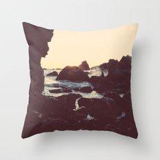 The Sun & The Sea II Throw Pillow