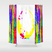egg Shower Curtains featuring Easter Egg by Latidra Washington