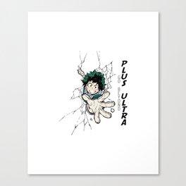 Go Beyond! Plus Ultra! Canvas Print