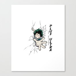 Go Beyond! Plus Ultra! Canvas Print