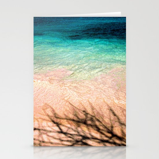 SEA AND TREE Stationery Cards