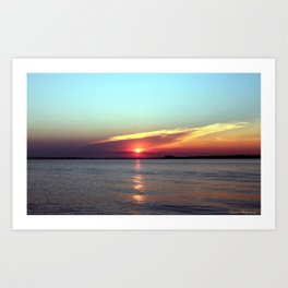 Gods Creation  Art Print