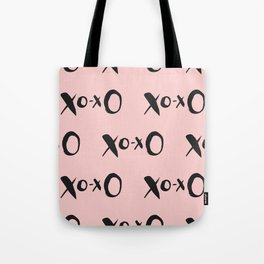 Kisses XOXO Millennial Pink Tote Bag