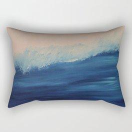 Downside Up Beach Rectangular Pillow