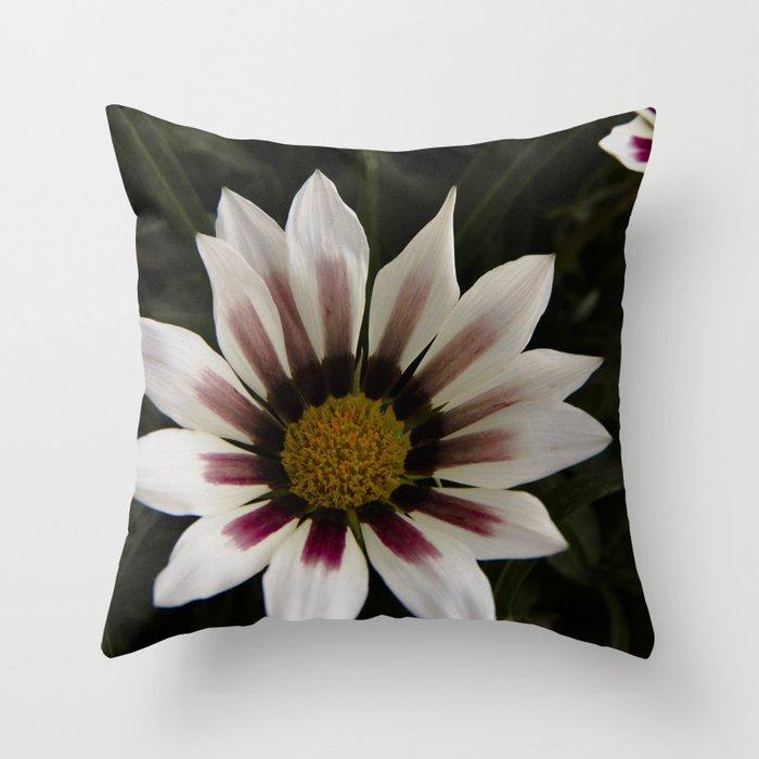 Flowers in summer Throw Pillow
