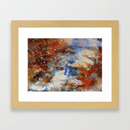 The Day I Hiked Alone Framed Art Print
