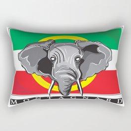 Montagnard Flag Rectangular Pillow