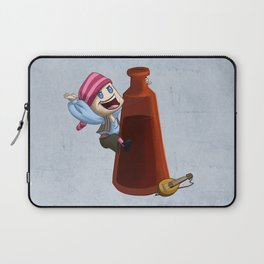King of the Bottle Laptop Sleeve