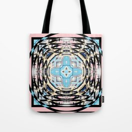 Perspective Aperture, Intersecting Pattern Tote Bag