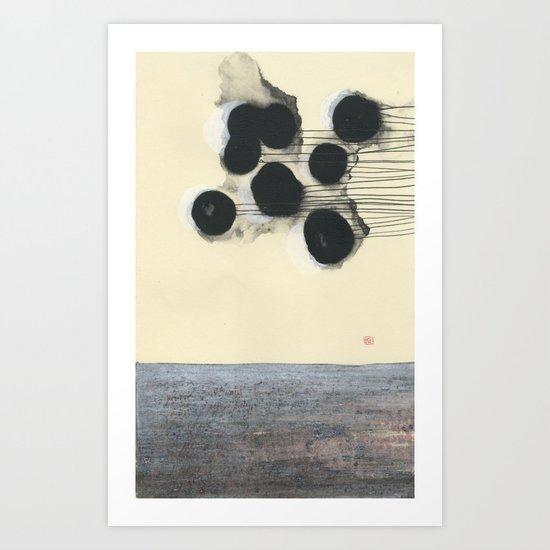 Pull Art Print