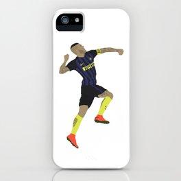 Mauro Icardi Inter Milan Print iPhone Case