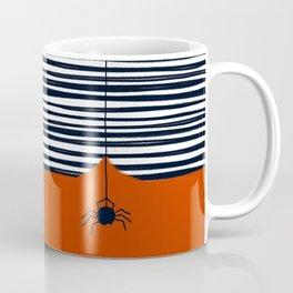 Black spider Coffee Mug