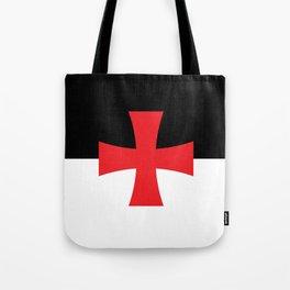 Knights Templar Flag Tote Bag