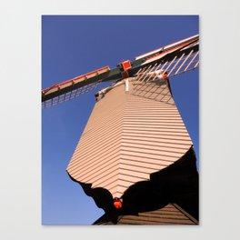 1745 Windmill sundown geometrics Canvas Print