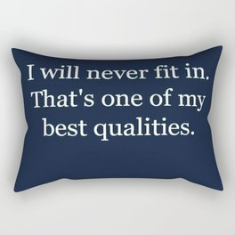 Fit In Rectangular Pillow