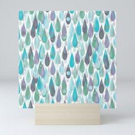 Let it Rain II Mini Art Print