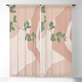Peacefully Resting Blackout Curtain