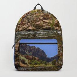 The Watchman & The Virgin 4756 - Zion National Park, Utah Backpack