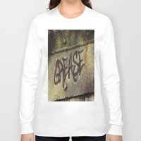 grease Long Sleeve T-shirts featuring Grease by Doug McRae