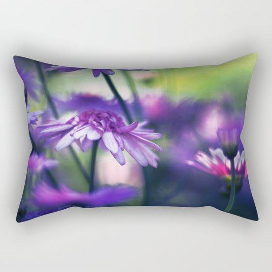 Passing By Rectangular Pillow