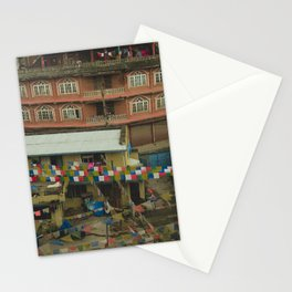 Kathmandu City Roof Tops - Architecture 05 Stationery Cards