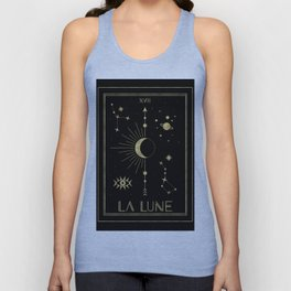 The Moon or La Lune Gold Edition Unisex Tanktop