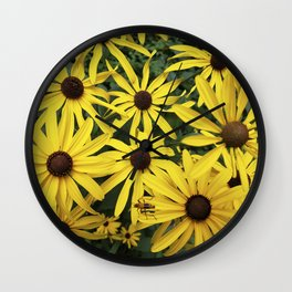 All is golden Wall Clock